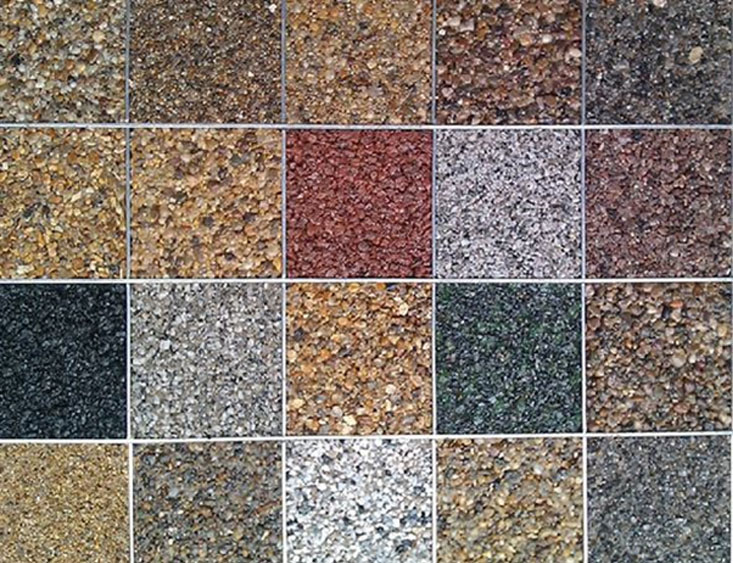 types of gravel available